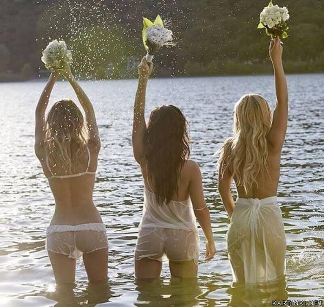 Серебро - Ольга, Полина и Катя