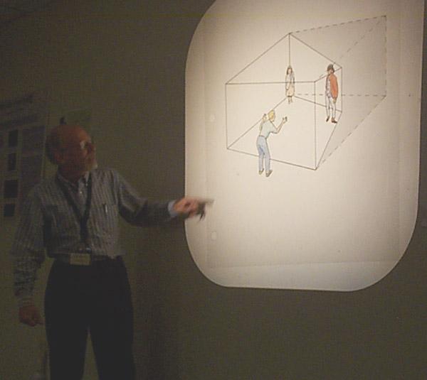 Схема комнаты Эймса