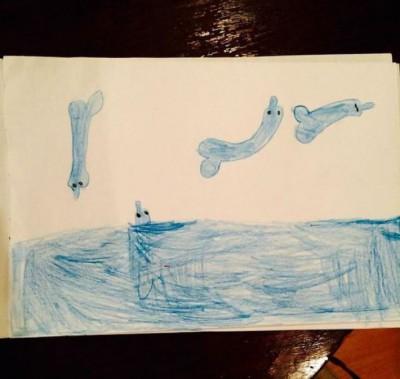 Дельфинарий моей дочери